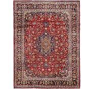 Link to 9' 7 x 12' 9 Mashad Persian Rug