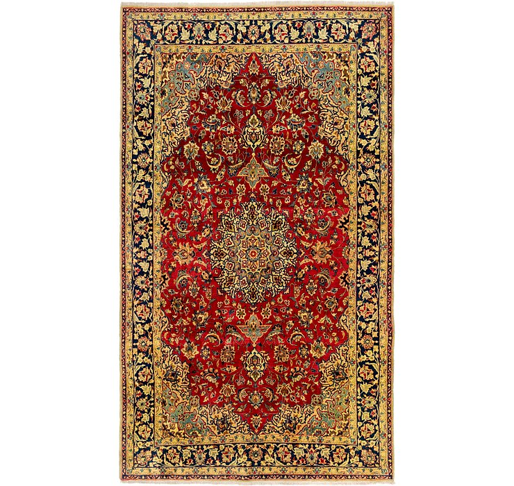 7' x 12' 3 Isfahan Persian Rug