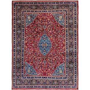 Link to 297cm x 390cm Mashad Persian Rug page