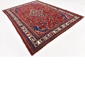 HandKnotted 8' 6 x 12' Hamedan Persian Rug