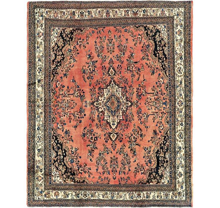 10' 9 x 13' 4 Hamedan Persian Rug