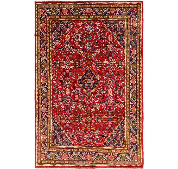 7' 8 x 11' 10 Mahal Persian Rug
