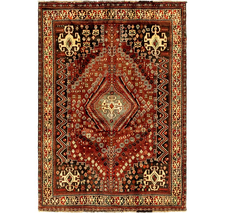 5' 6 x 7' 10 Ghashghaei Persian Rug