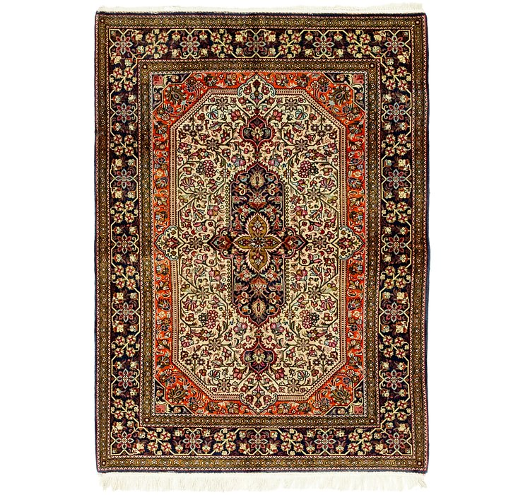3' x 5' Qom Persian Rug