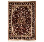 Link to 4' 8 x 6' 5 Qom Persian Rug