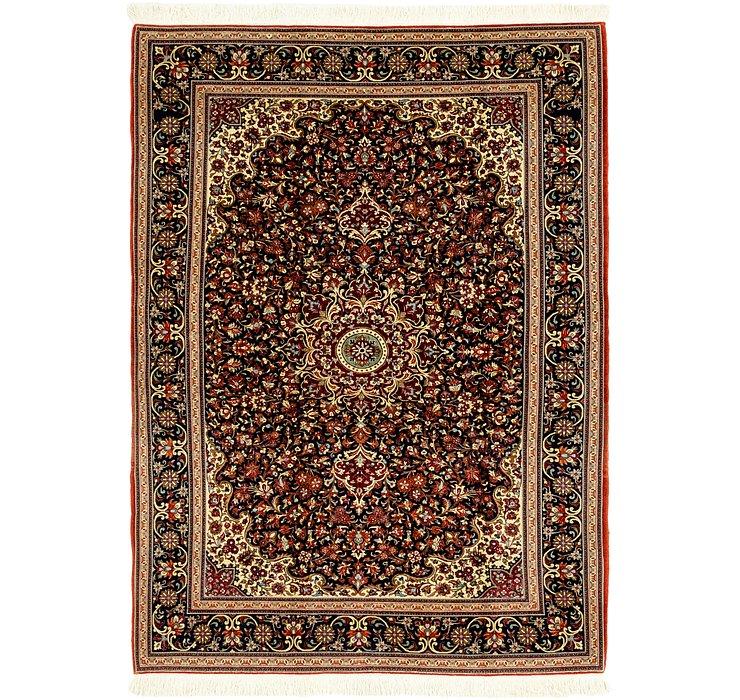 4' 8 x 6' 5 Qom Persian Rug