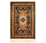 Link to 3' 4 x 5' 5 Qom Persian Rug