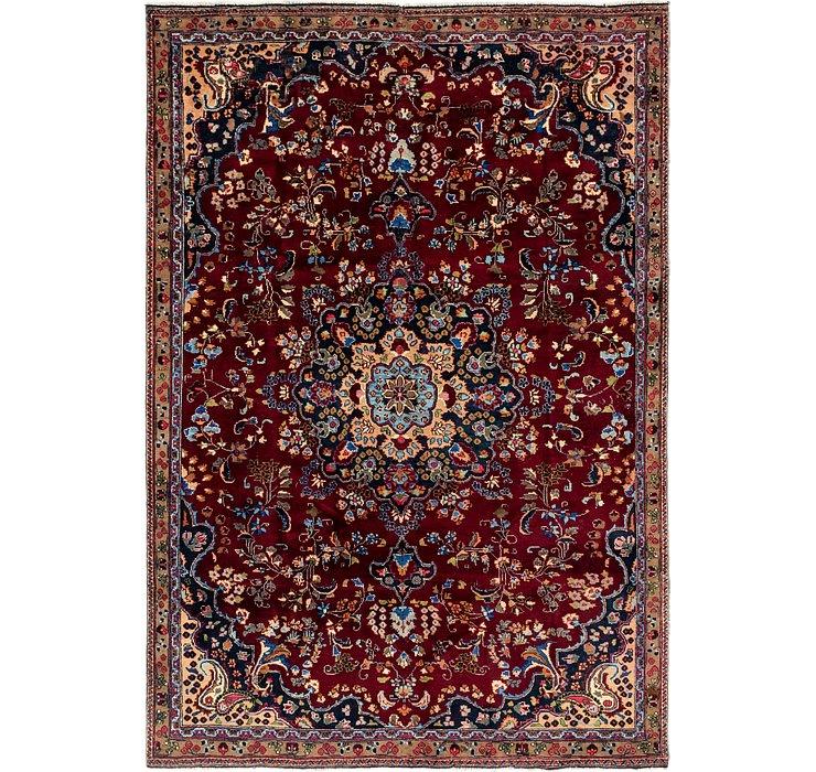 7' x 10' 3 Mashad Persian Rug