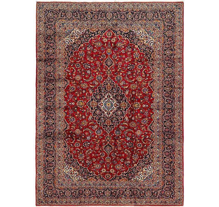9' 10 x 13' 4 Kashan Persian Rug