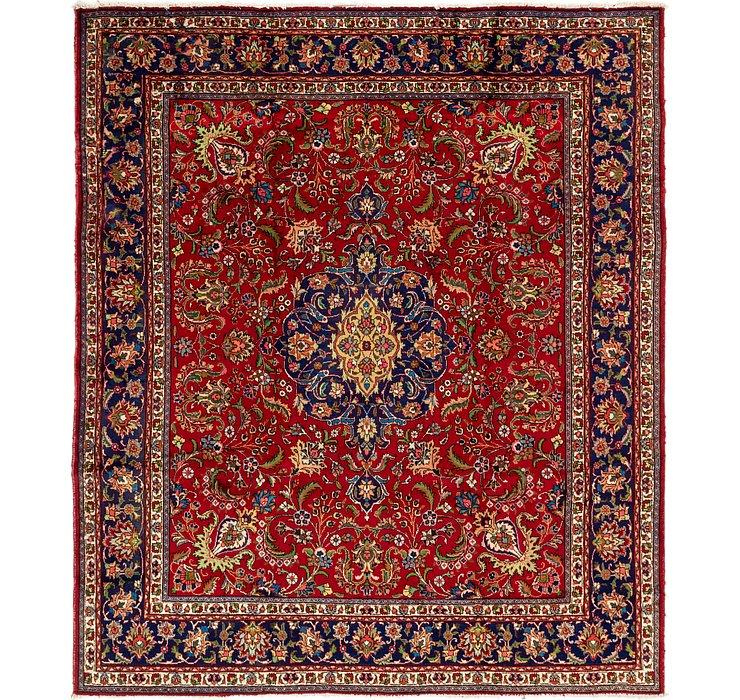 9' 10 x 11' 6 Tabriz Persian Rug