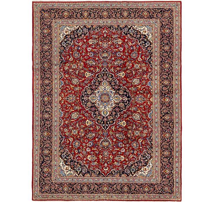 9' 7 x 12' 7 Kashan Persian Rug