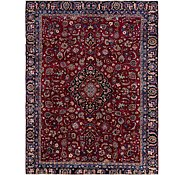 Link to 8' 8 x 11' Mashad Persian Rug