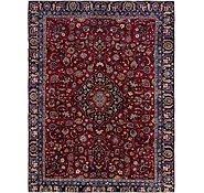 Link to 8' 8 x 11' Mashad Persian Rug