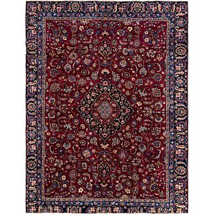 Link to 265cm x 335cm Mashad Persian Rug item page
