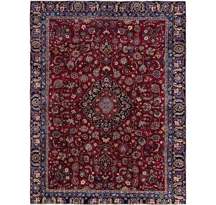 8' 8 x 11' Mashad Persian Rug