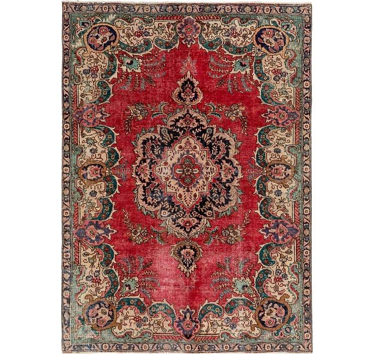 213cm x 297cm Tabriz Persian Rug