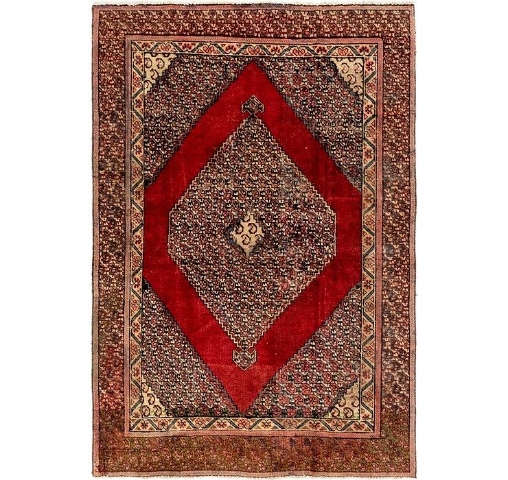4' x 6' Tabriz Persian Rug