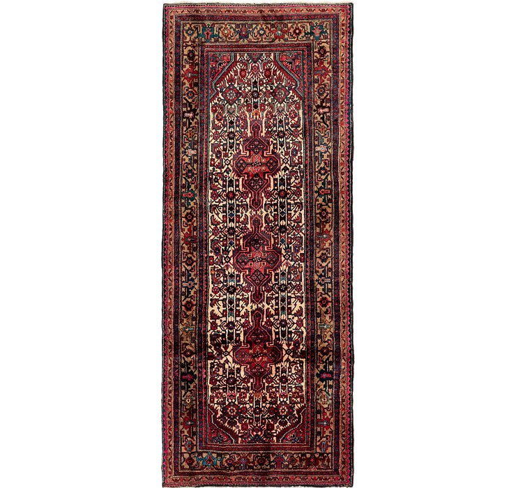 4' 5 x 11' Darjazin Persian Runner...