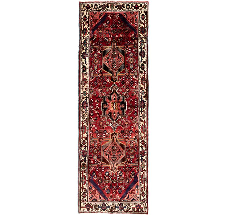 3' 8 x 10' 10 Darjazin Persian Runner...