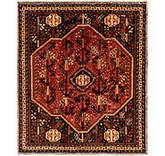 Link to 5' 7 x 6' 7 Ghashghaei Persian Square Rug
