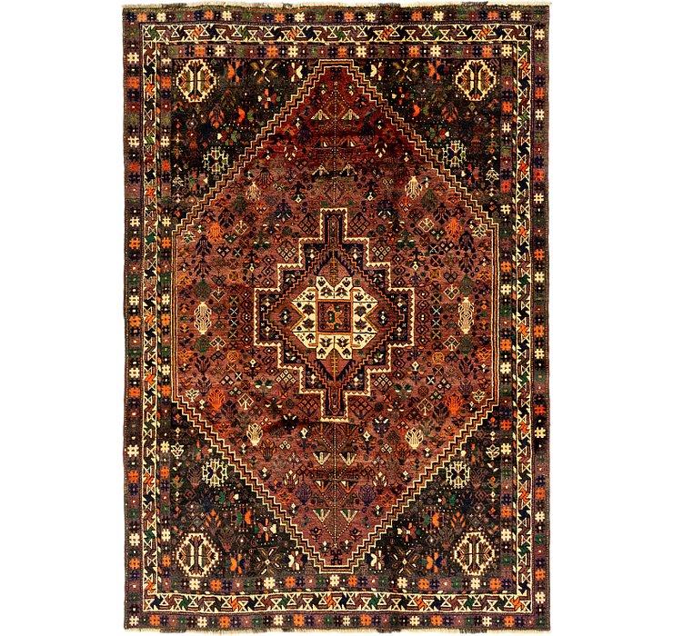 5' 10 x 8' 8 Ghashghaei Persian Rug