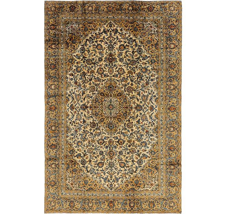 9' x 14' Kashan Persian Rug