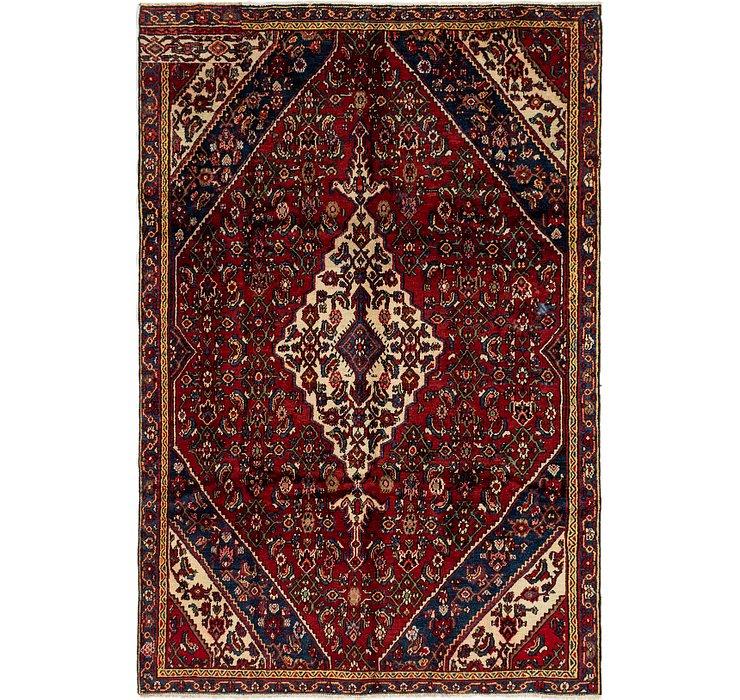 6' 5 x 9' 6 Hamedan Persian Rug