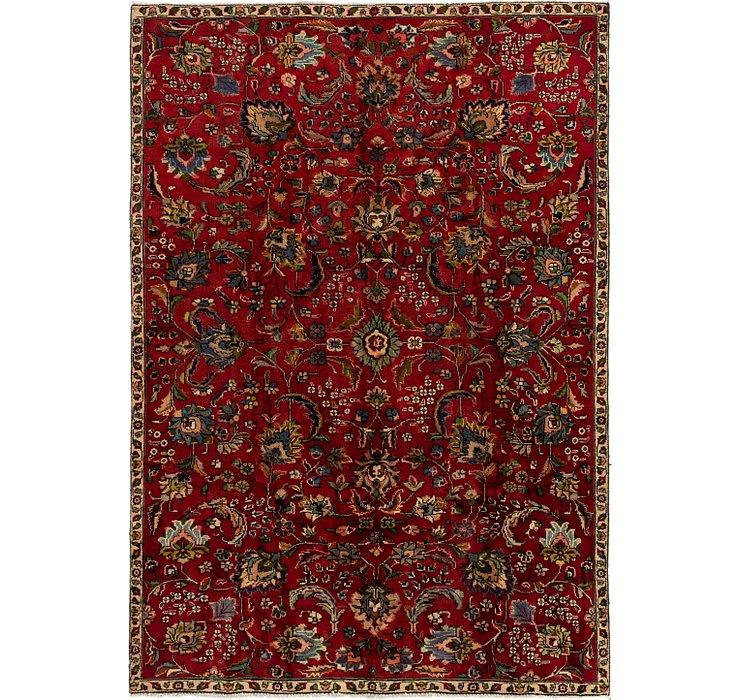 5' 10 x 8' 6 Tabriz Persian Rug