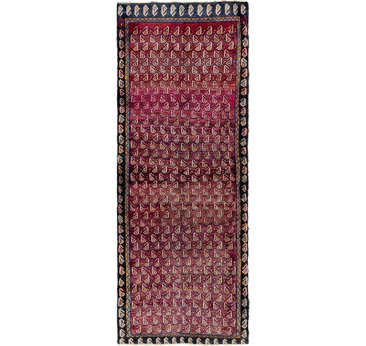3' 7 x 9' 5 Shiraz Persian Runner Rug