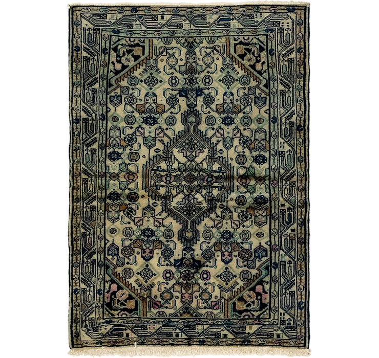 3' 7 x 5' 2 Darjazin Persian Rug