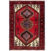 Link to 110cm x 152cm Hamedan Persian Rug