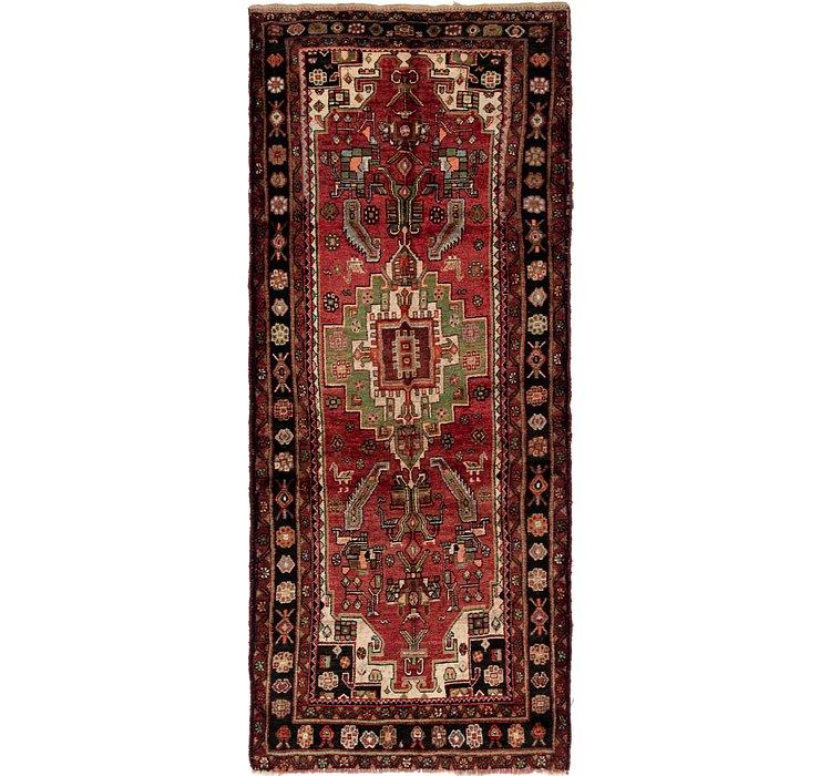 4' 3 x 10' 3 Ghashghaei Persian Runn...