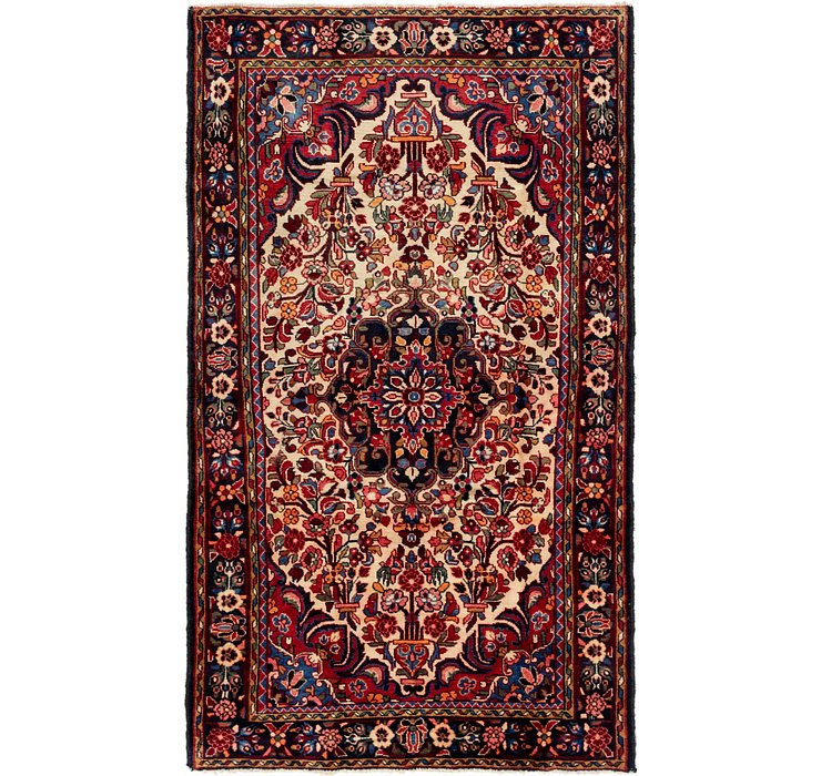 5' x 8' 8 Borchelu Persian Rug