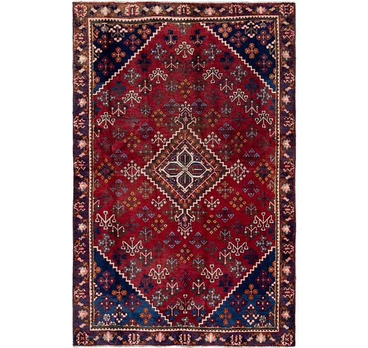 4' 2 x 6' 5 Maymeh Persian Rug