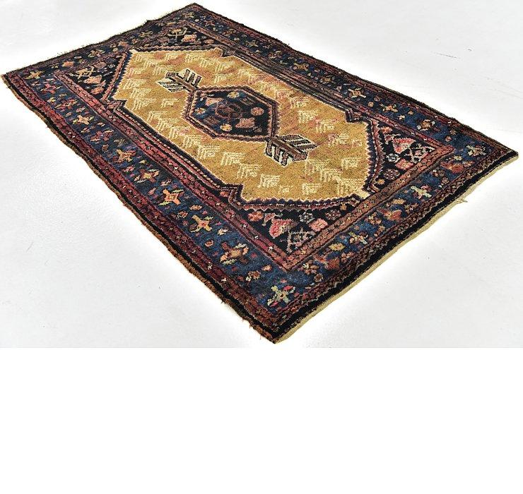 3' 8 x 6' Shahsavand Persian Rug