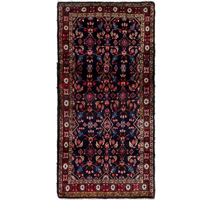3' 9 x 7' 7 Shahsavand Persian Runn...