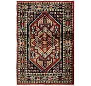 Link to 3' 4 x 5' Ardabil Persian Rug