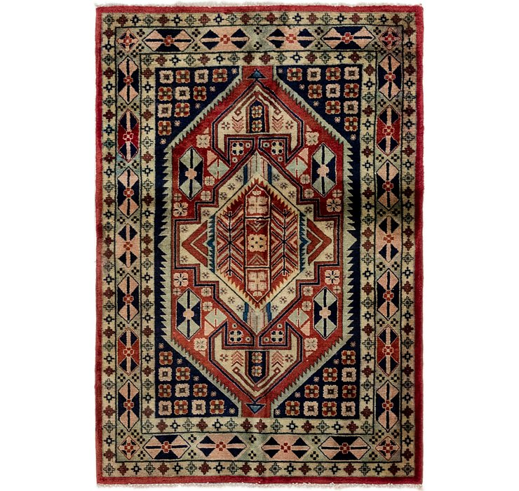 3' 4 x 5' Ardabil Persian Rug