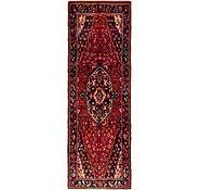 Link to 3' 10 x 11' Hamedan Persian Runner Rug