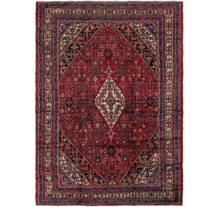 10' x 14' 6 Hamedan Persian Rug