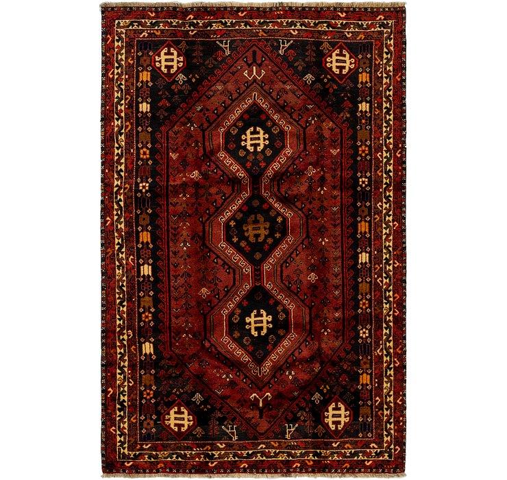 5' 5 x 8' 6 Ghashghaei Persian Rug