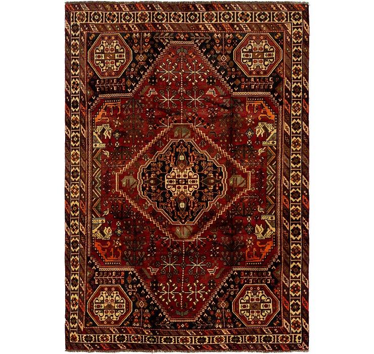6' 5 x 9' 7 Ghashghaei Persian Rug