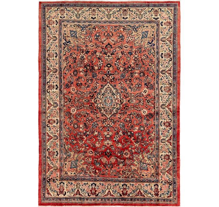 8' 8 x 12' 3 Meshkabad Persian Rug