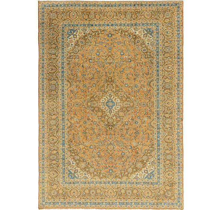 9' 8 x 13' 8 Mashad Persian Rug