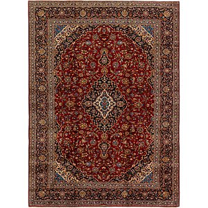 Link to 300cm x 410cm Kashan Persian Rug page