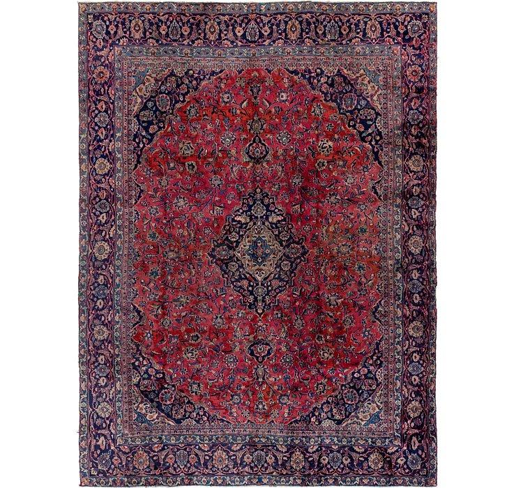 8' 10 x 12' Mashad Persian Rug