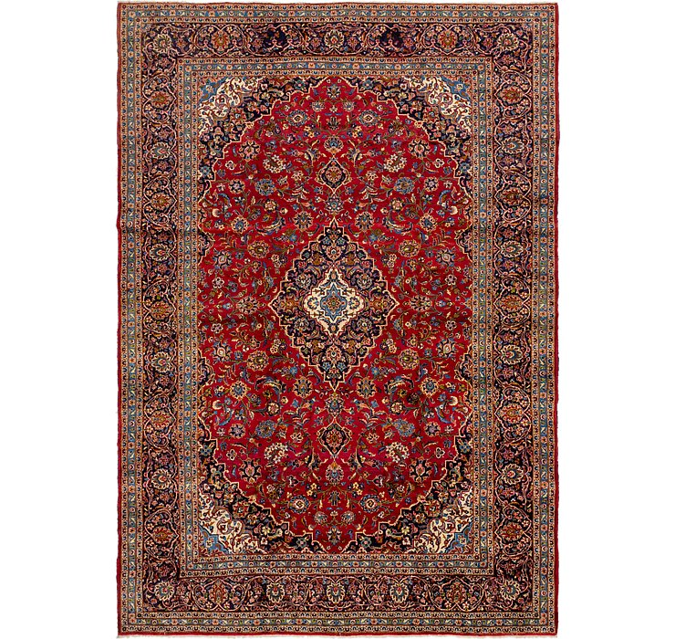 HandKnotted 9' 10 x 14' 3 Kashan Persian Rug