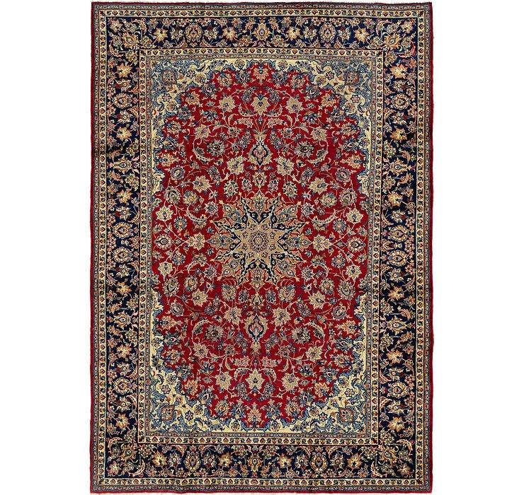 HandKnotted 9' 7 x 13' 9 Isfahan Persian Rug