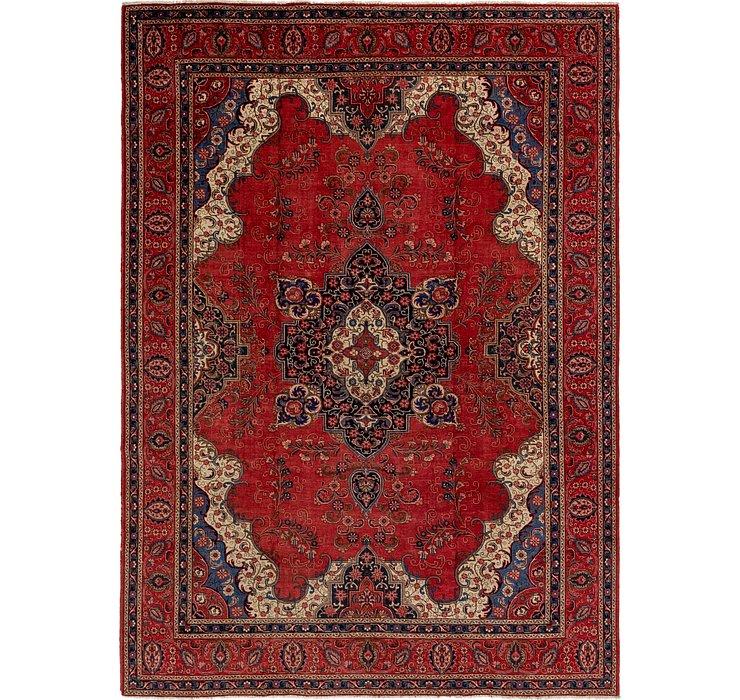 HandKnotted 9' 5 x 12' 10 Tabriz Persian Rug