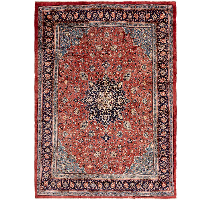 10' 2 x 14' 3 Sarough Persian Rug